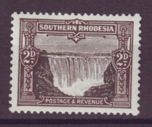 J20918 Jlstamps 1931-7 south rhodesia mh #19 water falls