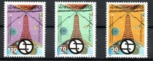 1985 - Libya - International Telecommunications Development Program- Set 3 MNH**
