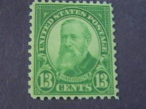 U.S.# 694-MINT/NEVER HINGED----YELLOW/GREEN---HARRISON------1931(#B)
