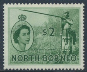 North Borneo  SG 384  SC# 273  MH spacefiller see scans and details