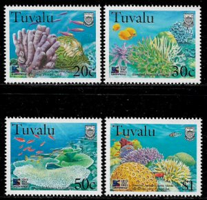 Tuvalu #776-9 MNH Set - Greenpeace - Save Our Seas - Marine Life