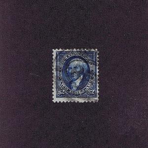 SC# 262 USED $2 MADISON, 1894, DOUBLE OVAL REG CANCEL, 2018 W.T. CROWE CERT
