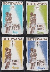 Botswana 54-57 MNH (1969)