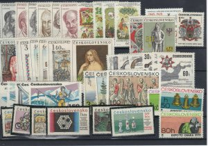 Czechoslovakia 1970's Mint Never Hinged Stamps  Ref: R7448