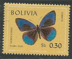 Bolivia || Scott # 524 - MH