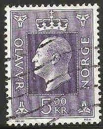 Norway Used Sc 540 - King Olav V