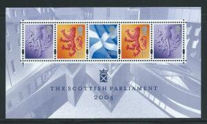 Great Britain Scotland 24a 2004 Parliament s.s. MNH