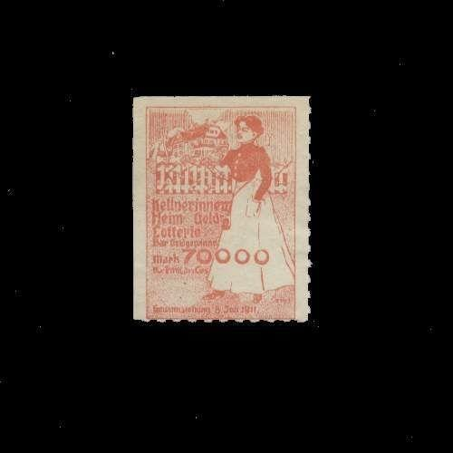 Denmark 1914 Support Draftees Poster Stamp