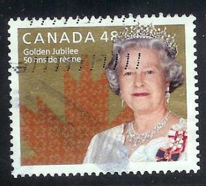Canada #1932 48c Queen Elizabeth II Golden Jubilee