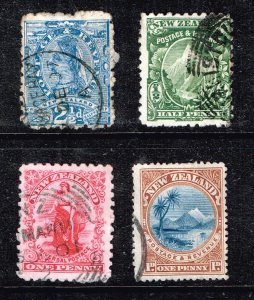 NEW ZEALAND STAMP USED STAMPS COLLECTION LOT