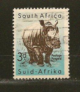 South Africa 204 Rhinoceros Used