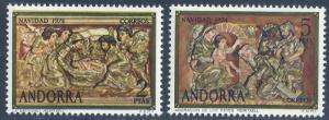 ANDORRA-SPANISH SCOTT 84-85