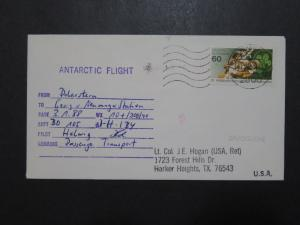 Germany 1988 Antarctic Flight Cover / Location Signed - Z9567
