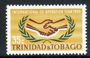 TRINIDAD  AND TOBAGO--1965    I.C.Y    -  -LMM