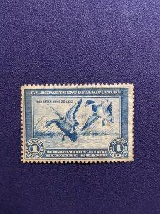 U.S. RW1 VF, CV $160