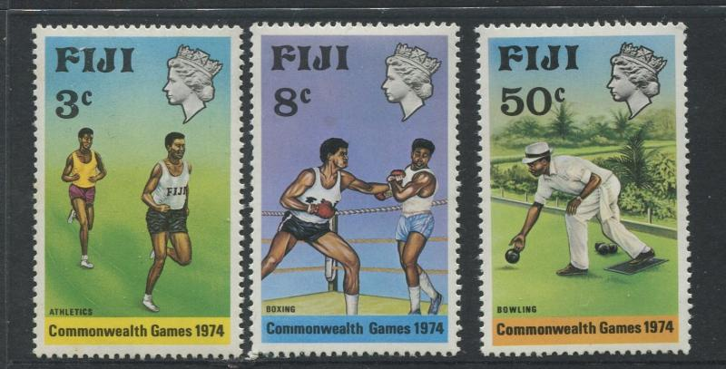Fiji - Scott 341-343 - General Issue 1974 - MNH - Set of 3 Stamps