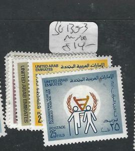 UNITED ARAB EMIRATES  (PP1403B)  SG 130-3      MNH