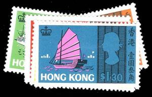 HONG KONG 239-44  Mint (ID # 79953)