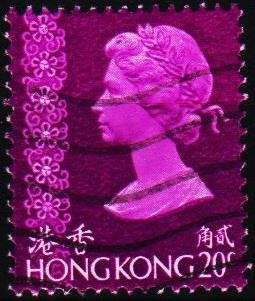 Hong Kong. 1973 20c S.G.313 Fine Used