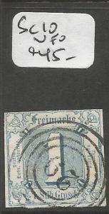 Germany Thurm And Taxis SC 10 VFU (4cpn)