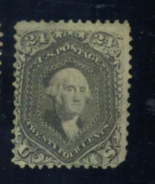 78B MINT Fine  No Gum COrner crease Cat$1000