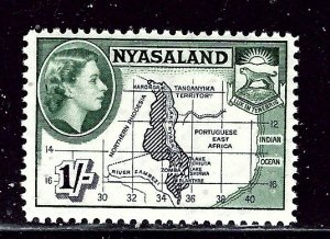 Nyasaland 106 MNH 1953 issue    (ap2695)