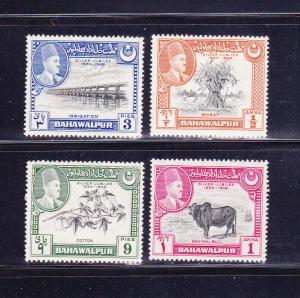Bahawalpur 22-25 Set MHR Various (B)