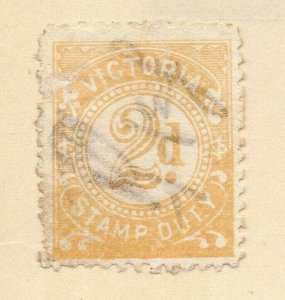 Victoria 1884-86 Early Issue Fine Used 2d. 326810