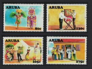 Aruba Cultural Heritage 4v SG#413-416