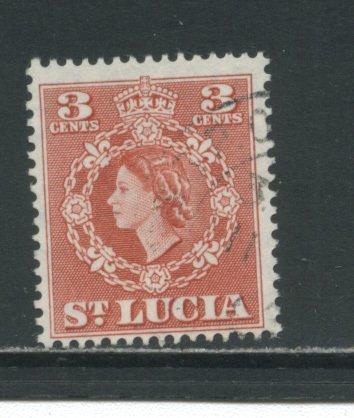 St. Lucia 159  Used cgs