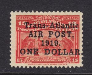 Newfoundland Scott # C2 VF-OG lightly hinged scv $ 225 ! see pic !