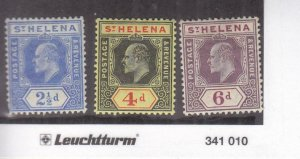 St. Helena: Sc #56-58, MH (35835)