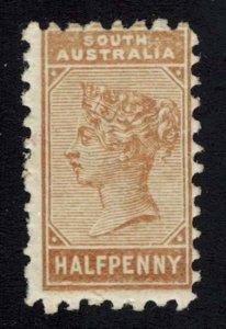 South Australia Scott 104 Unused lightly hinged.