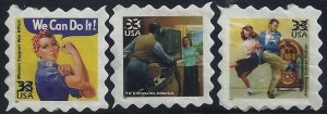 3186 (e,f,g) Scarce USPS Authorized Copies Cinderella / Poster Toy Stamps Read