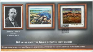 CA20-020, 2020, Group of Seven, Arthur Lismer, Pictorial Postmark, First Day Cov