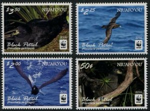 2016 Niuafo'ou 607-610 WWF / Birds 10,00 €