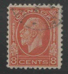 CANADA Scott 200 Used 1932 8c KGV stamp