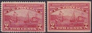 US #372-3 MNH CV $61.00  (Z2739)