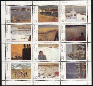 CANADA - 32c Canada Day Mini Sheet Plate Block 1984