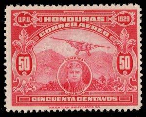 Honduras Scott C13C Unused hinged.