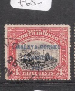 North Borneo SG 256 VFU (7deg)