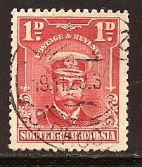 Southern  Rhodesia  #  2  used