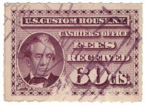 (I.B) US Revenue : Custom House Fees 60c