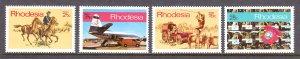 Rhodesia - Scott #294-297 - MNH - SCV $3.85