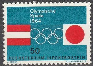 Liechtenstein #385 MNH