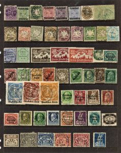 STAMP STATION PERTH German States #54 Mint / Used - Unchecked