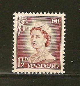 New Zealand 290 Queen Elizabeth II MNH