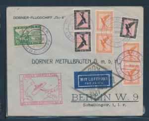 DOX MAY 3,1931 ON COVER -- SCARCE -- VF WITH ONBOARD CANCELS BU6323