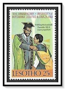 Lesotho #159 University of Botswana MNH