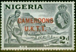 Cameroon 1960 2d Bluish Grey SGT4B Type B Very Fine MNH